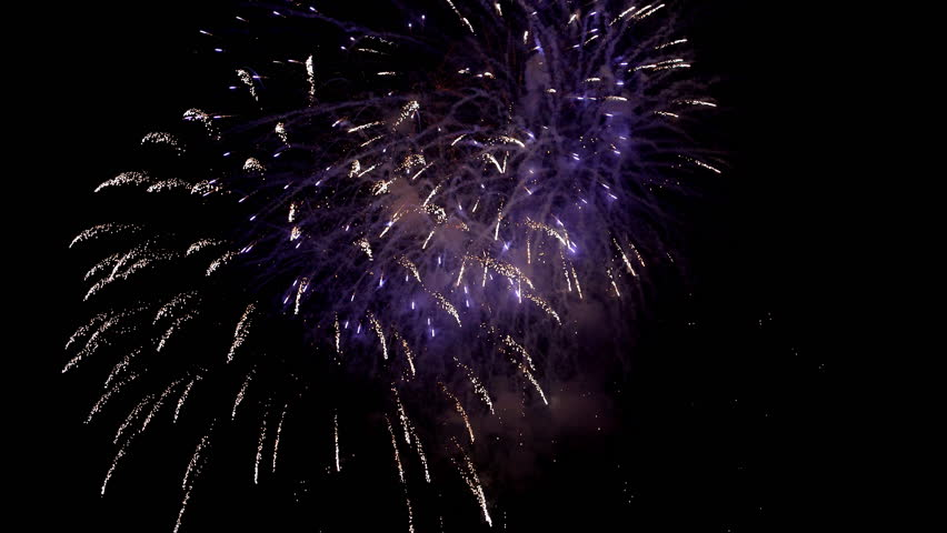 Fireworks in the night sky | Shutterstock HD Video #22127044