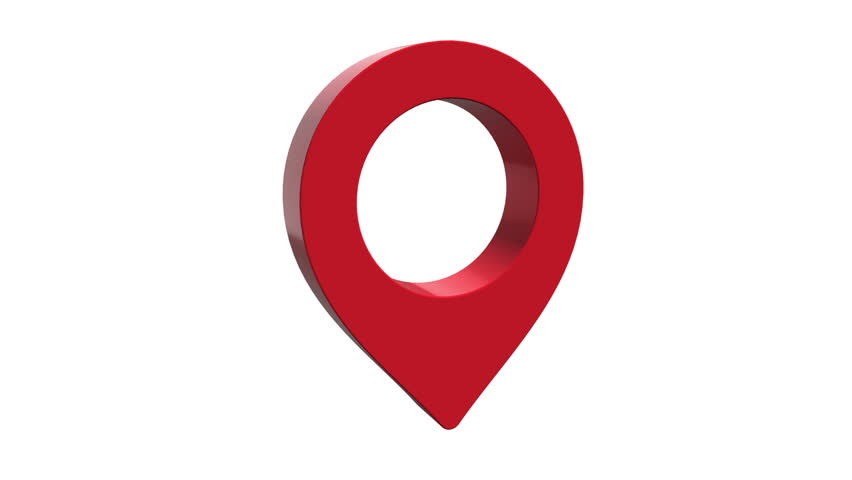 Icono Ubicacion Google Maps Png 3 Png Image: Stock Video Of Pin Geo Location Isolated Icon Logo