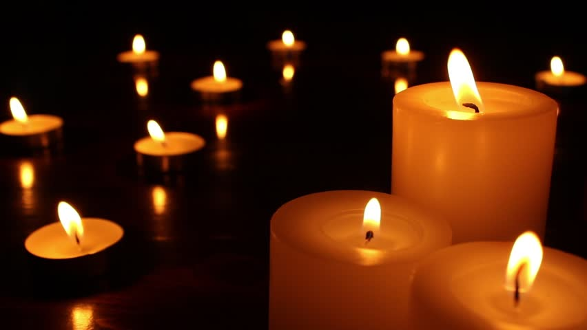 Candle Art Hd Wallpaper: Candle Light Close Up. Candle Stock Footage Video (100
