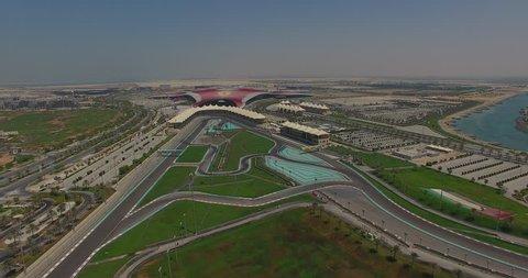 Abu Dhabi Yas Island Marina Racing