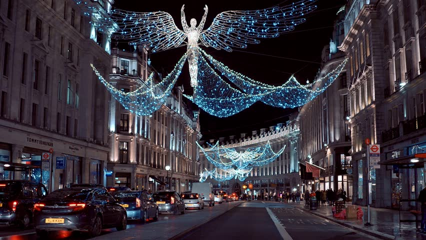 London At Christmas Time.Wonderful London At Christmas Time Stock Footage Video 100 Royalty Free 22428514 Shutterstock