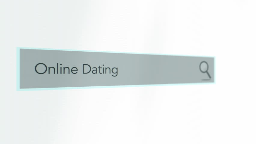 Search Bar Screen close up of Online Dating Search  December 2016