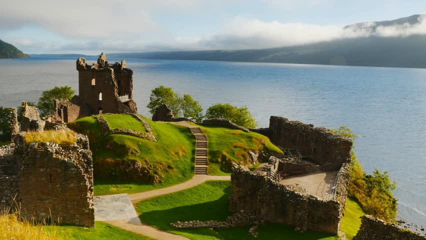 Loch Ness Karte.Uk Scotland Highlands Urquhart Castle Stock Footage Video 100 Royalty Free 22499734 Shutterstock