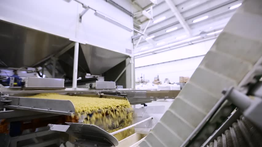 Factory for the production of pasta | Shutterstock HD Video #22518457