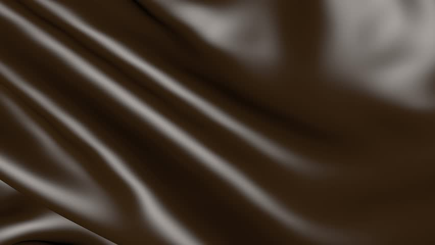 Dark Chocolate Brown Waves Silk Solid Background Fabric For The ...