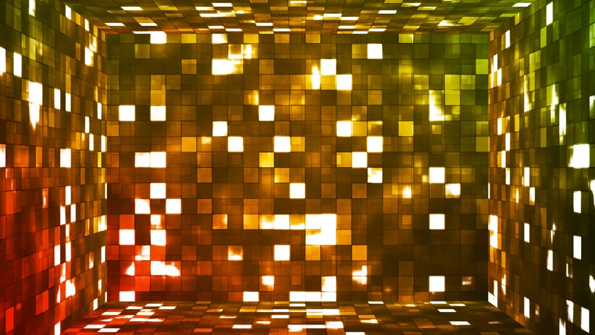 """This Background is called """"Broadcast Firey Light Hi-Tech Squares Room 05"""", which is 4K (Ultra HD) Background. It's Frame Rate is 25 FPS, it is 8 Seconds Long, and is Seamlessly Loopable. #22558564"""