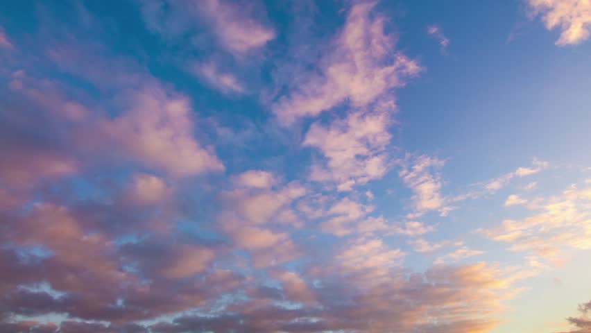 sunset clouds timelapse