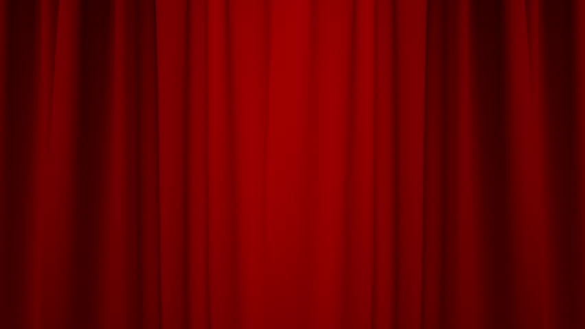 Red Curtain with Alpha Channel/Opening / closing red curtain | Shutterstock HD Video #22691584