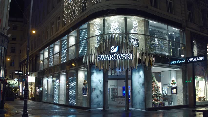 baden baden germany december 10 2014 swarovski. Black Bedroom Furniture Sets. Home Design Ideas