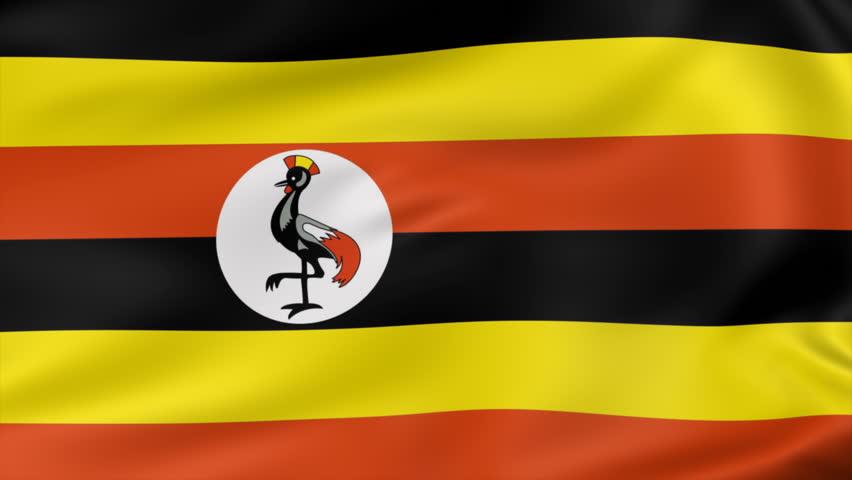 Animated Flag Of Uganda