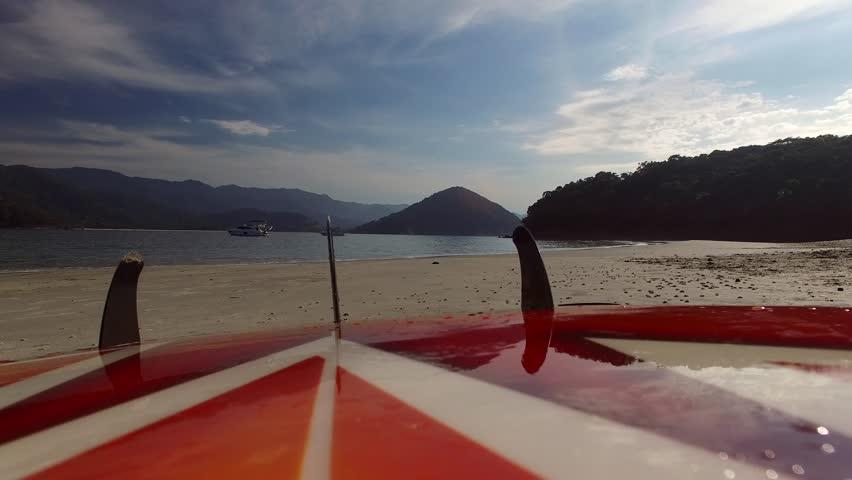 Aerial View of Paradise Island in Sao Sebastiao, Brazil | Shutterstock HD Video #22850134