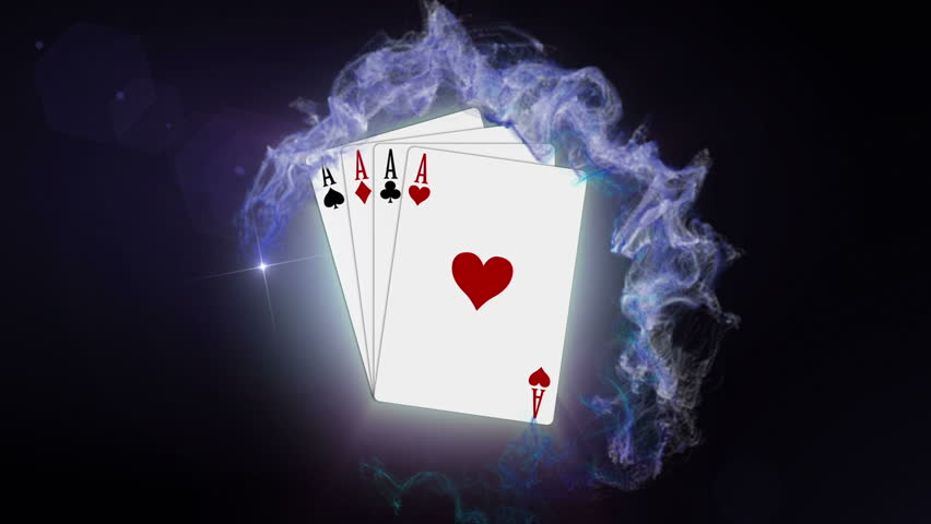 Poker Cards In Red Particle Stock Footage Video 100 Royalty Free 2289254 Shutterstock