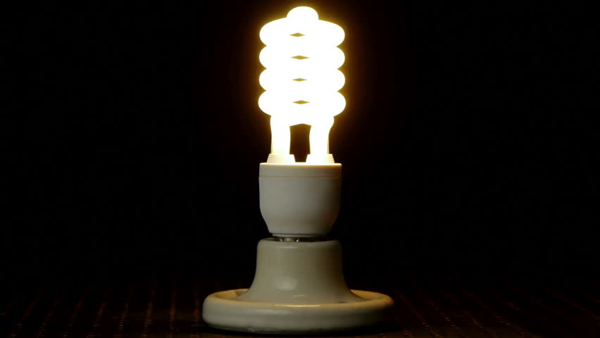 Light Bulb Technology Progression (HD) Light bulbs being changed as generational technology advances. Incandescent, compact fluorescent and new LED based light bulbs used.