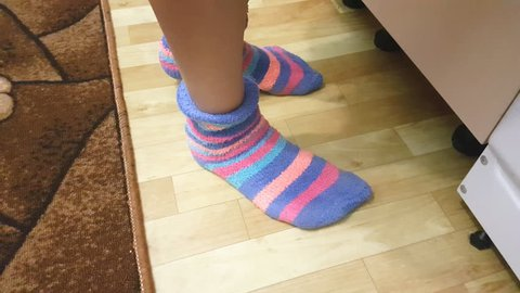 Striped Socks Stock Video Footage - 4K and HD Video Clips | Shutterstock