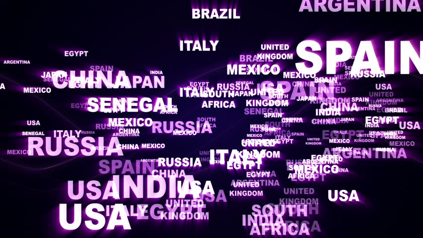 World States Text Animation, Rendering, Stock Footage Video (100%  Royalty-free) 23105044   Shutterstock