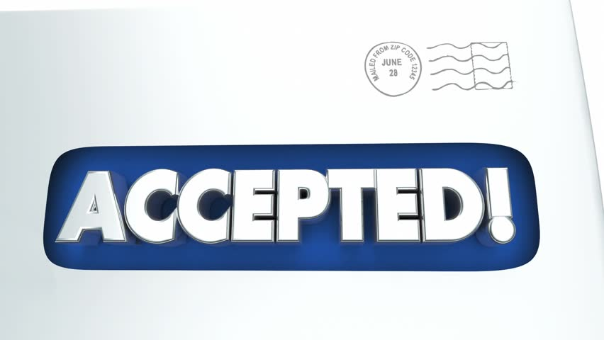 Header of Accepted