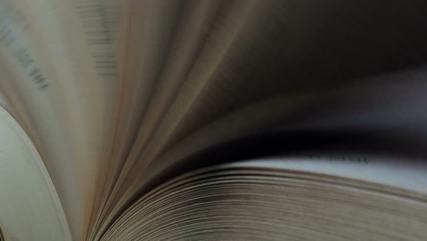 Book pages flipping