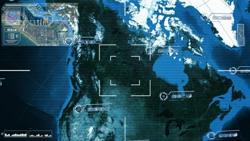 World Map Scanning Stock Footage Video Shutterstock - World map satellite hd