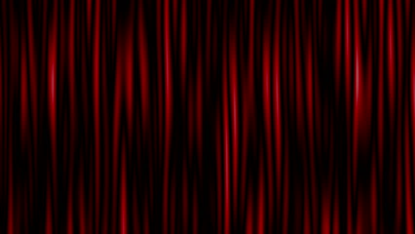 Highly detailed 3d animation of curtain. Seamless loop | Shutterstock HD Video #23338894