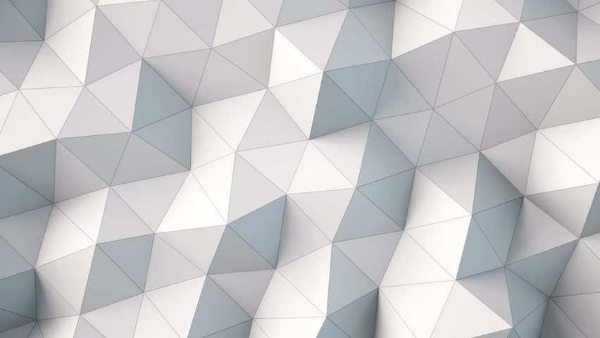 White Polygonal Geometric Surface Computer Stock Footage Video 100 Royalty Free 23412844 Shutterstock