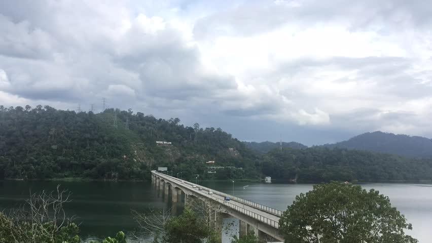 Time Lapse of the Royal Belum Bridge at Banding Lake,Perak,Malaysia | Shutterstock HD Video #23543602