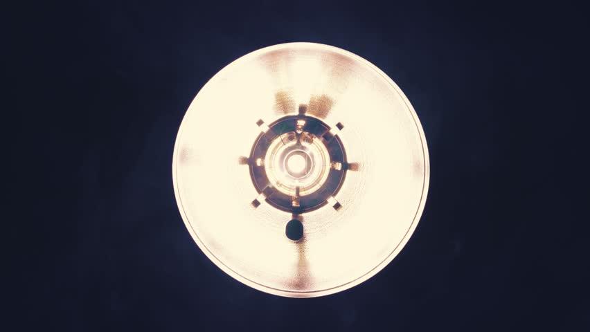 Bright orange spotlights turning on and off   Shutterstock HD Video #23622904