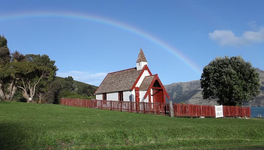 Beautiful Maori Church On a Stock Footage Video (100% Royalty-free) 2365094  | Shutterstock