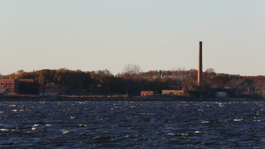 Hart Island, New York's City Cemetery and Potter's Field sits isolated off the Bronx in Long Island Sound / Kings Point, NY - USA, November, 2016