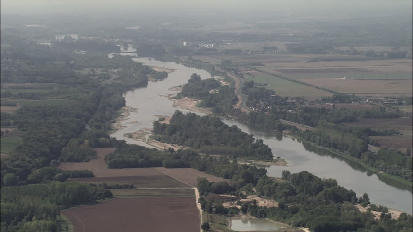 Loire Between Chaumont And Amboise