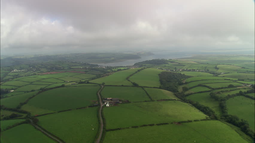 Medieval Open Field Plan At Laugharne