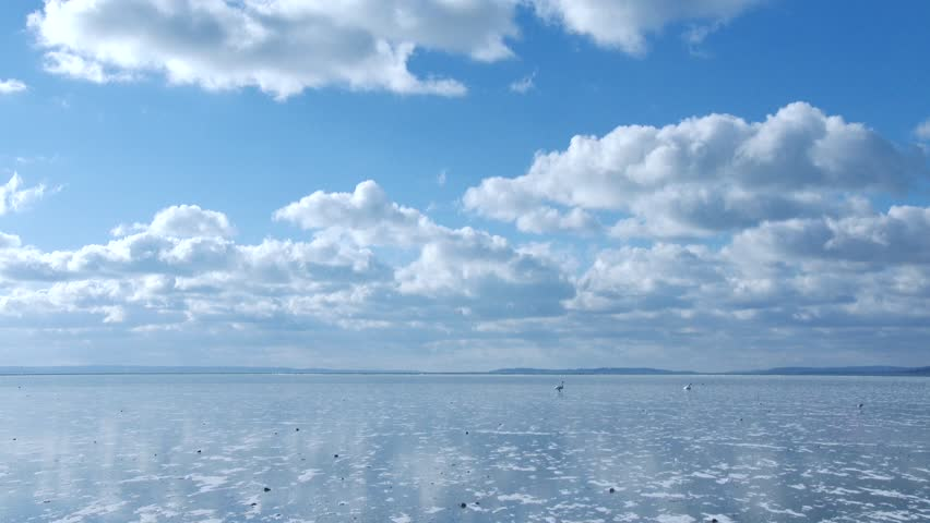 4K Frozen Lake on a Freezing and Sunny Winter Day | Shutterstock HD Video #23744374