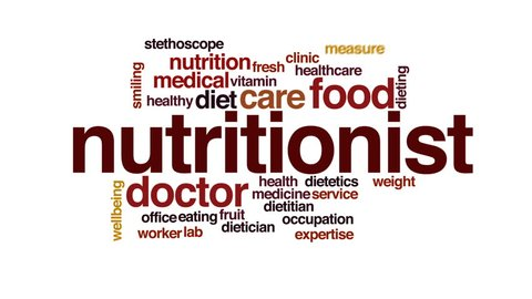 Nutritionist Animated Word Cloud, Text Stock Footage Video (100%  Royalty-free) 23772784 | Shutterstock
