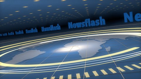 Background, useful for Broadcast, Information, Entertainment, Webcast and many other Applications, loop-able (3d rendering)