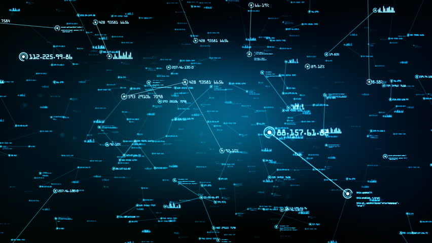 Global network connections. You can use it for a technology, communication or social media background. Available in multiple versions. Green-Blue color. Seamless loop. 4K   Shutterstock HD Video #24035884