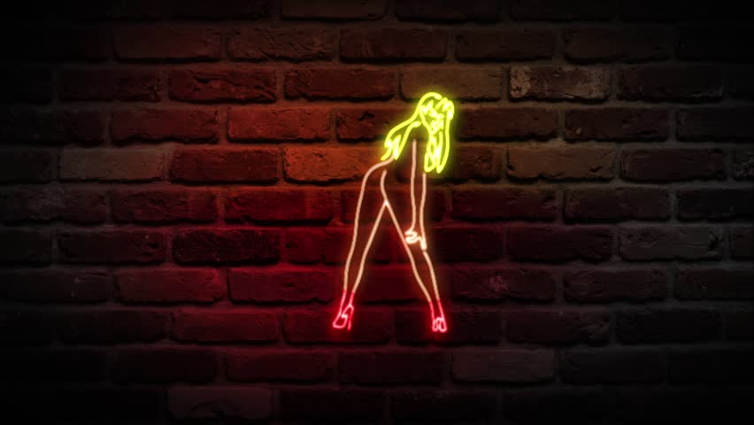 Neon Strip club Sign / Neon Privat Dance sign / Neon Live Nudes sign / Neon Hot Girls sign
