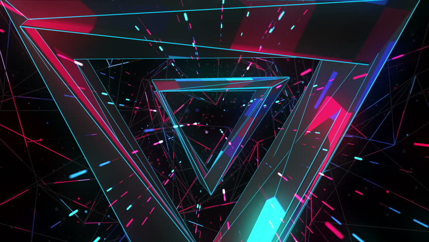 Flight into cosmic web structure seamless VJ loop for music videos, night clubs, audiovisual show and performance, LED screens and projection mapping | Shutterstock HD Video #24071284