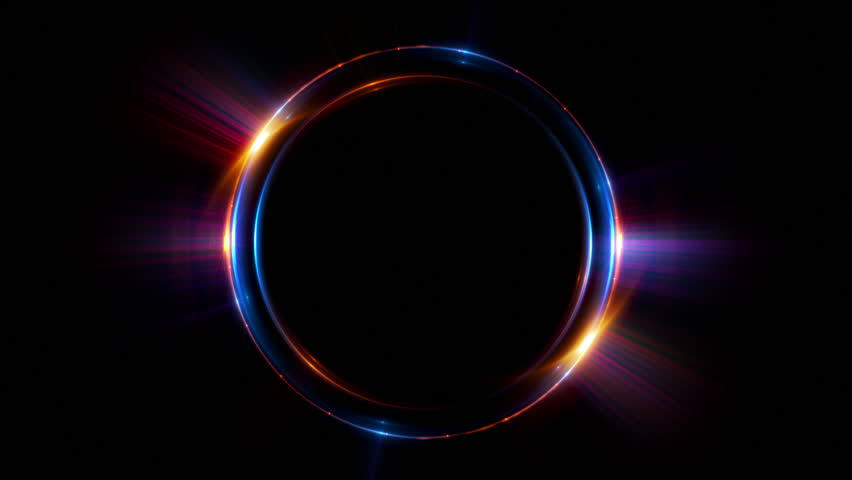 Abstract neon background. luminous swirling. Glowing spiral cover.  Black elegant. Halo around. Power isolated. Sparks particle. Space tunnel. LED color ellipse. Glint glitter. Shimmer loop motion | Shutterstock HD Video #24102952