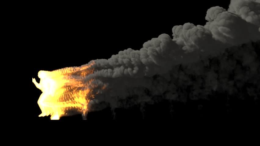Fire Smoke On Green Screen Stock Footage Video 3334085   Shutterstock