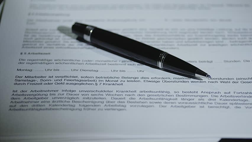 Arbeitsvertrag für geringfügig beschäftigte