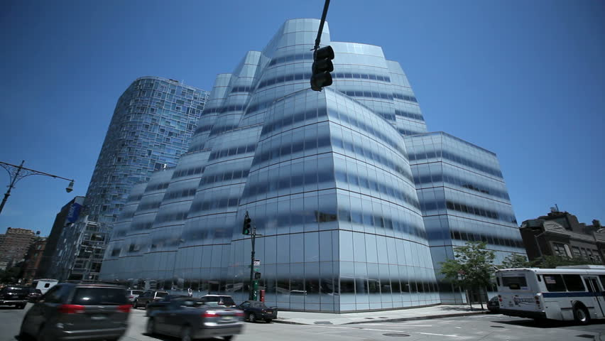 Modern Architecture Videos new york city - jun 15: close-up time lapse of a modern