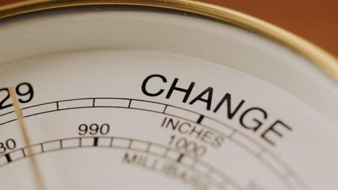 Barometer indicates change