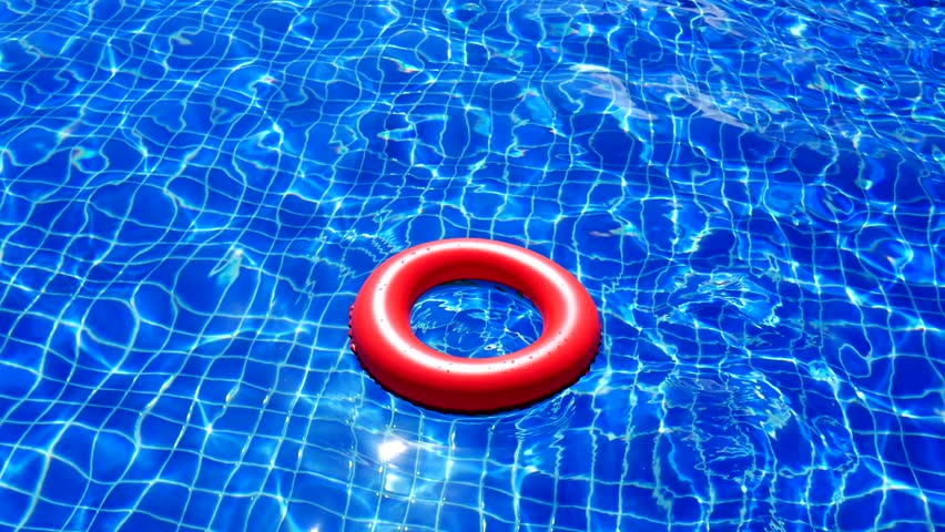 Colorful abstract of water surface in swimming pool | Shutterstock HD Video #24551144