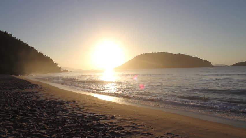 Sunrise  beach   Shutterstock HD Video #24605084