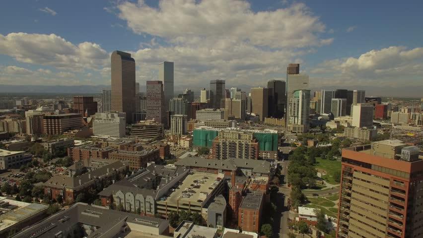 Aerial Colorado Denver September 2016 4K | Shutterstock HD Video #24655625