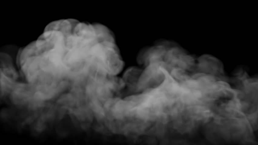 High Quality White Smoke steam with alpha channel, 30 ips High Definition Pre-Keyed stock footage element for compositing. Ideal for visual effects & motion graphics.