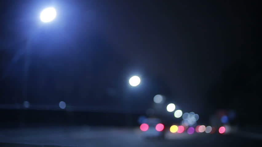 City at night, background with cars. Out of focus | Shutterstock HD Video #24863774