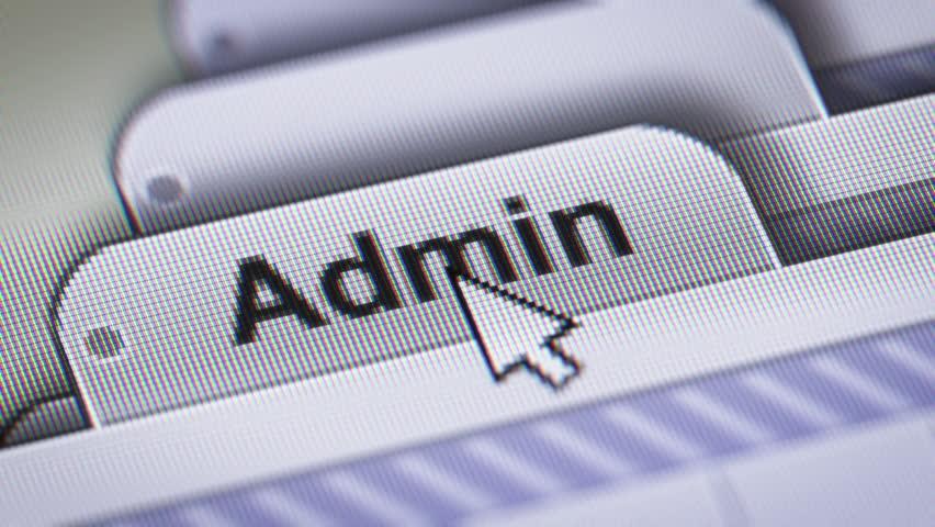 Header of admin
