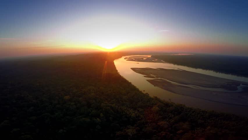 Amazon Rainforest - Cloudscape - Rain    Shutterstock HD Video #25029734
