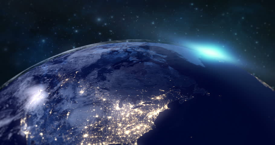 Blue Planet Earth from Space Stock Footage Video (100% Royalty-free)  25059434 | Shutterstock