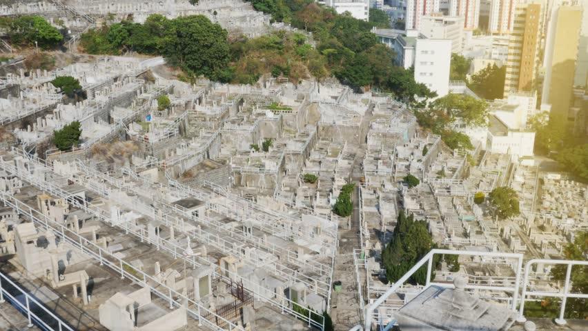 Cemetery of HongKong | Shutterstock HD Video #25257674